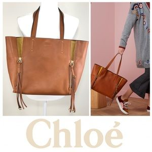 NEW✨CHLOE MILO TOTE, Caramel. Posh authenticates!